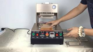Professional Automatic Frame Laminator Bracket Pressure Laminating Machine for iPhone with 5 Moulds