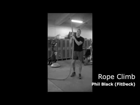 Rope Climbing with Phil Black (FitDeck)