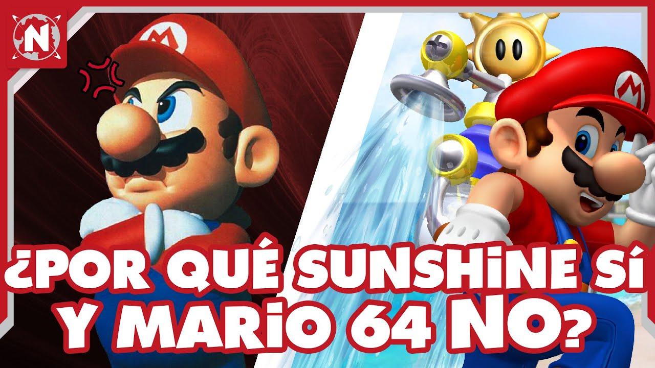¿Por Qué Mario 64 NO TIENE Vista Panorámica en Super Mario 3D All Stars?