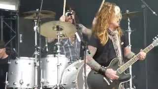 The Dead Daisies - Midnight Moses, live @ Download Festival 2015