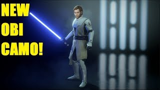 NEW OBI WAN SKIN / DECEMBER UPDATE! STAR WARS BATTLEFRONT II LIVE