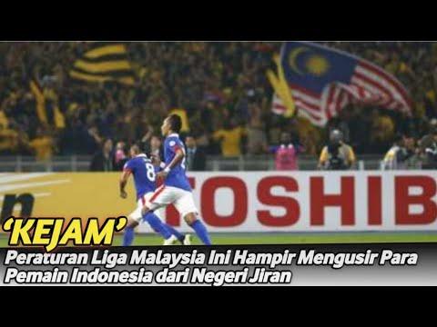 'Kejam' Peraturan Liga Malaysia Ini Hampir Mengusir Para Pemain Indonesia dari Negeri Jiran