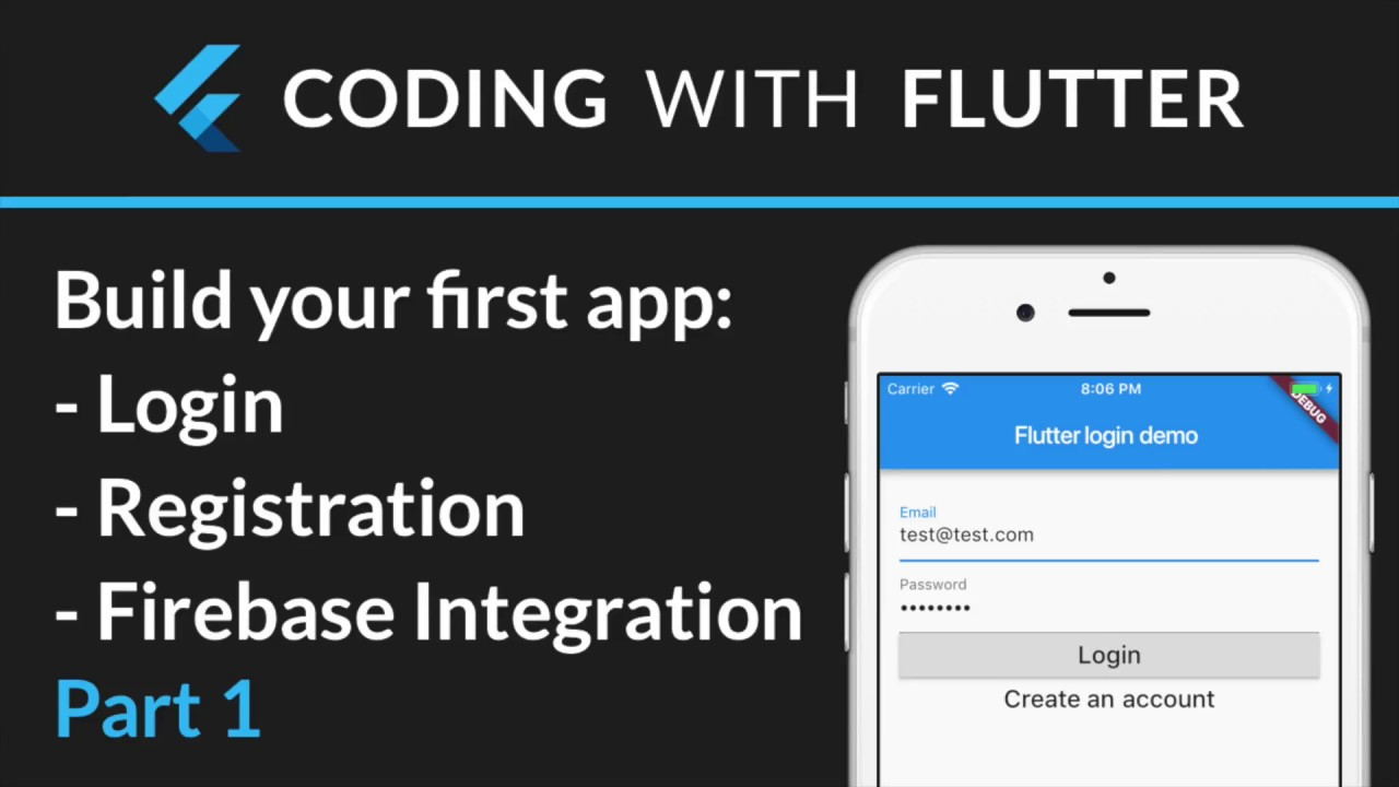 Coding With Flutter