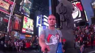 Time Square Evening New York My Trip Of My Life