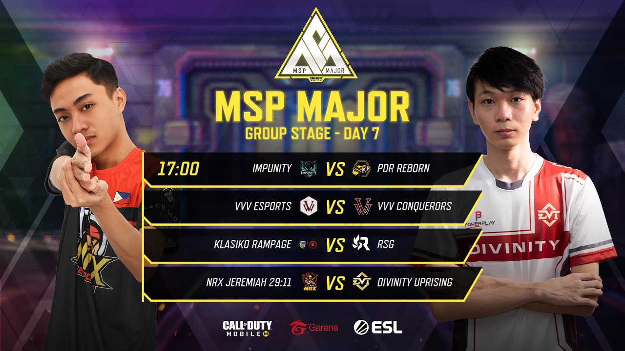 MSP Major: Group Stage - Day 7 - Garena Call of Duty Mobile