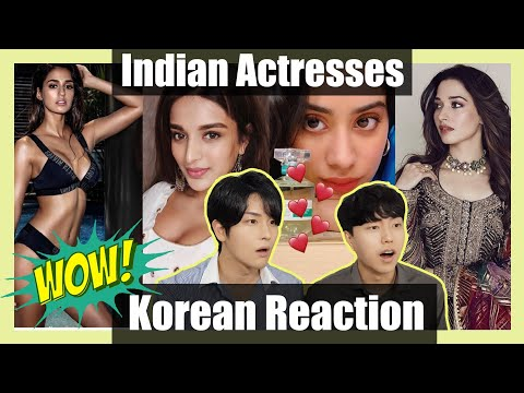 Download Korean Reaction to Beautiful Indian Actress | Bollywood Mp4 baru