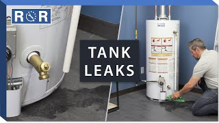 Hot Water Tank is Leaking Water | Repair and Replace