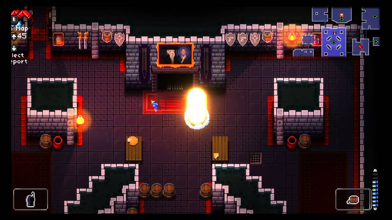 Enter the Gungeon- The Fireplace Room - YouTube