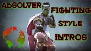????Absolver Fighting Style Intro Selections