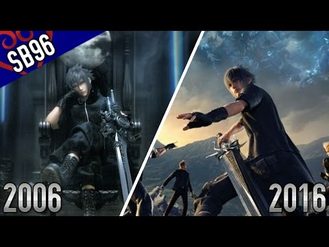 Final Fantasy XV - 2006 VS 2016