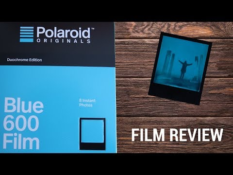FILM REVIEW - POLAROID 600 BLUE DUOCHROME EDITION I Lomtro