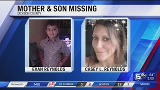 Gambar cover Police looking for mother, son missing out of Dickson Co.