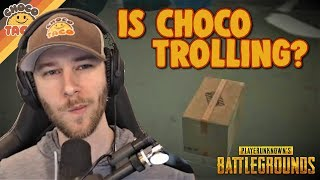 Is chocoTaco Trolling, Though? ft. Boom - PUBG Gameplay