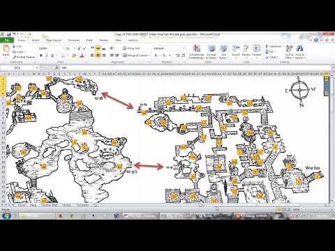 How To Guide - Spreadsheet Adventure Module (SAM) using The Halls Untoward