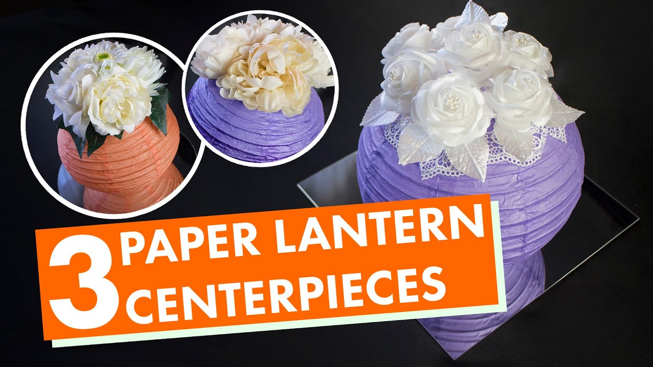 paper lantern centerpieces  balsacircle, Beautiful flower