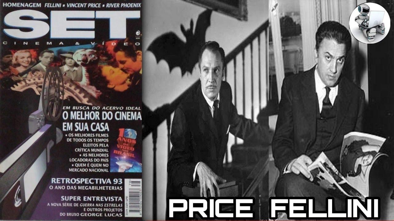 Revista Set número 78: Vincent  Price, Fellini, Lucas !!! ( Reavaliando )