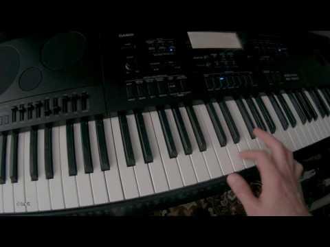 Kid Cudi - Day 'N' Nite casio wk-7600 piano tutorial cover