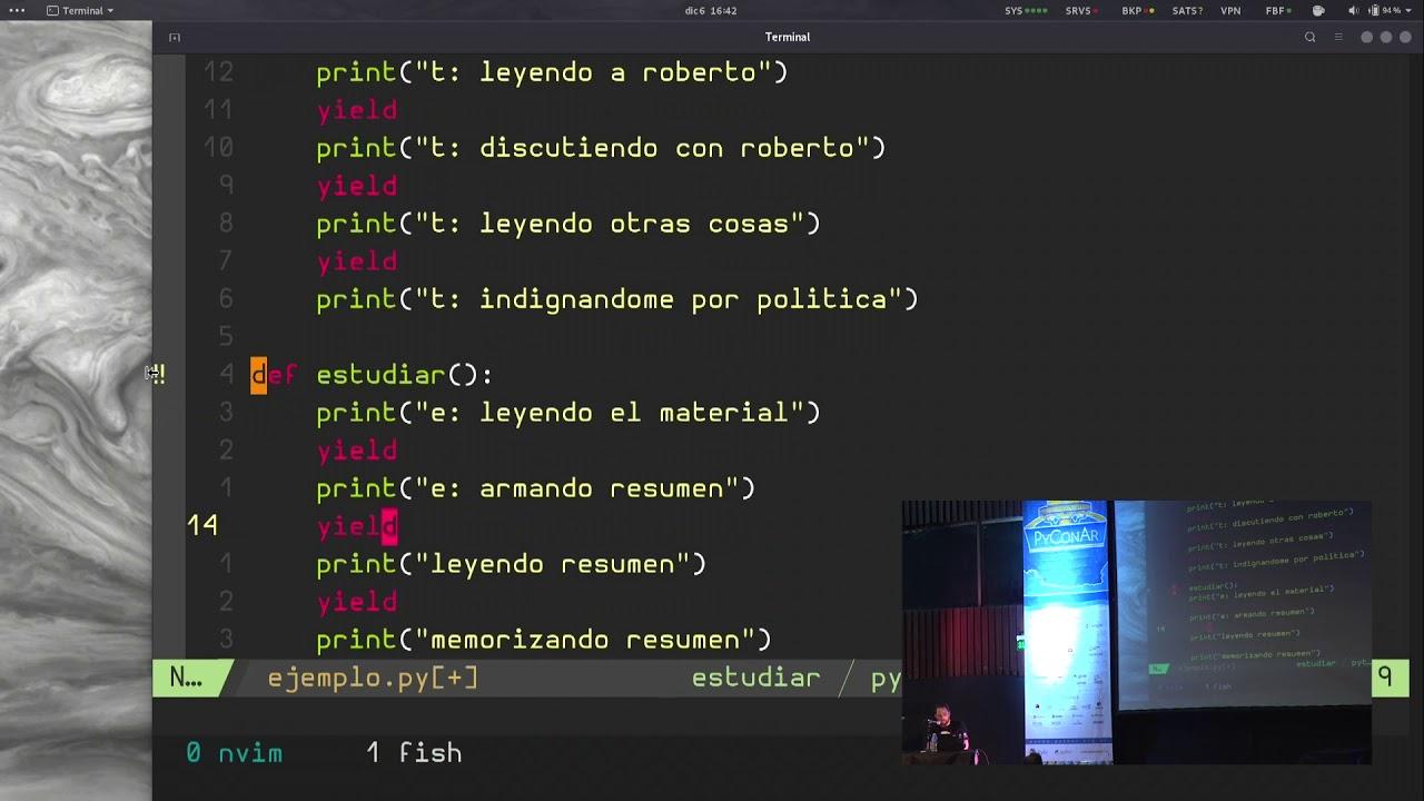 Image from Entendiendo asyncio sin usar asyncio, por Juan Pedro Fisanotti