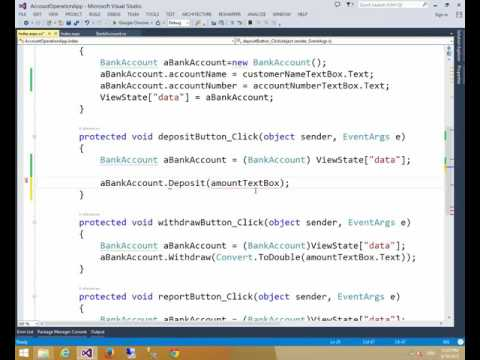 C# Tutorial In Bangla : Data Private in Bank Account