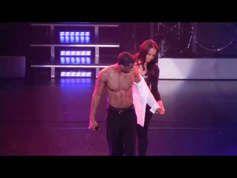 Trey Songz freaky Girl from the audience joins him on stage