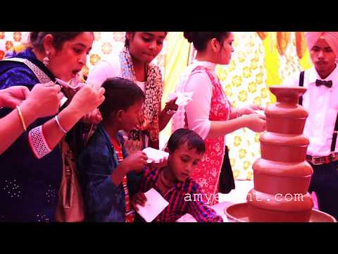 Chocolate Fountain Rental Service in India