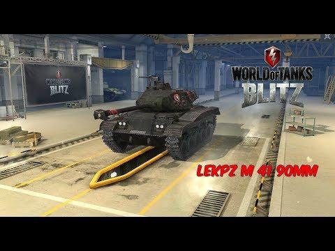 leKpz M 41 90 mm - World of Tanks Blitz
