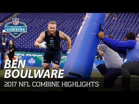 Ben Boulware (Clemson, LB)   2017 NFL Combine Highlights
