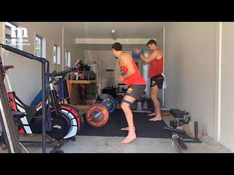 Metricon Home Workouts: Sam Collins & Izak Rankine