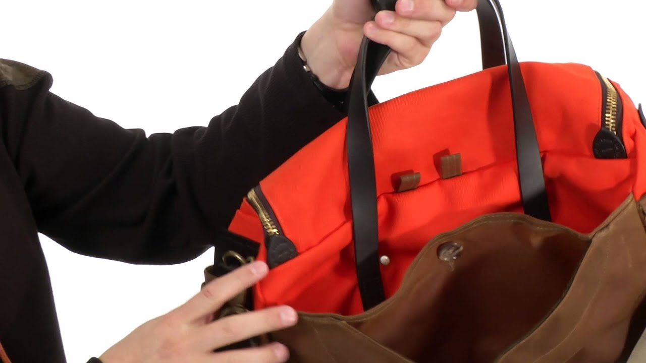 Filson Original Sportsman Bag SKU 8386483 - YouTube 1453ad2b62