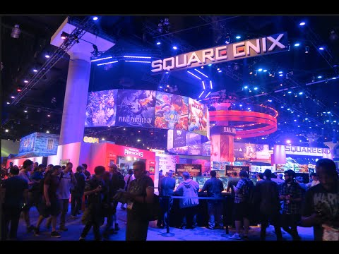 THIS IS WHAT E3 LOOKS LIKE    SHOW FLOOR TOUR
