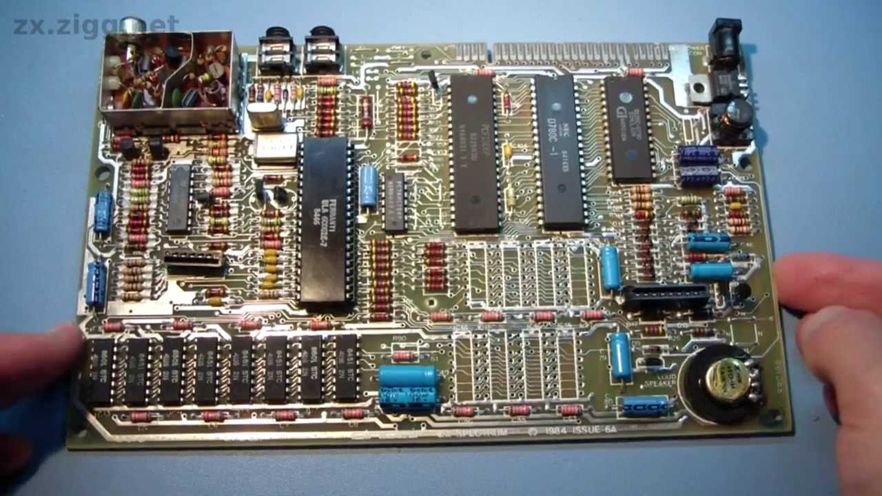 Removing Components From A Double Sided Through Hole Plated Zx The Basic Digital Computing Circuitry Used In Sinclair Spectrum Circuit Board