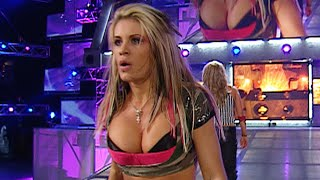 Ashley Massaro vs. Mickie James with Special Guest Referee Trish Stratus