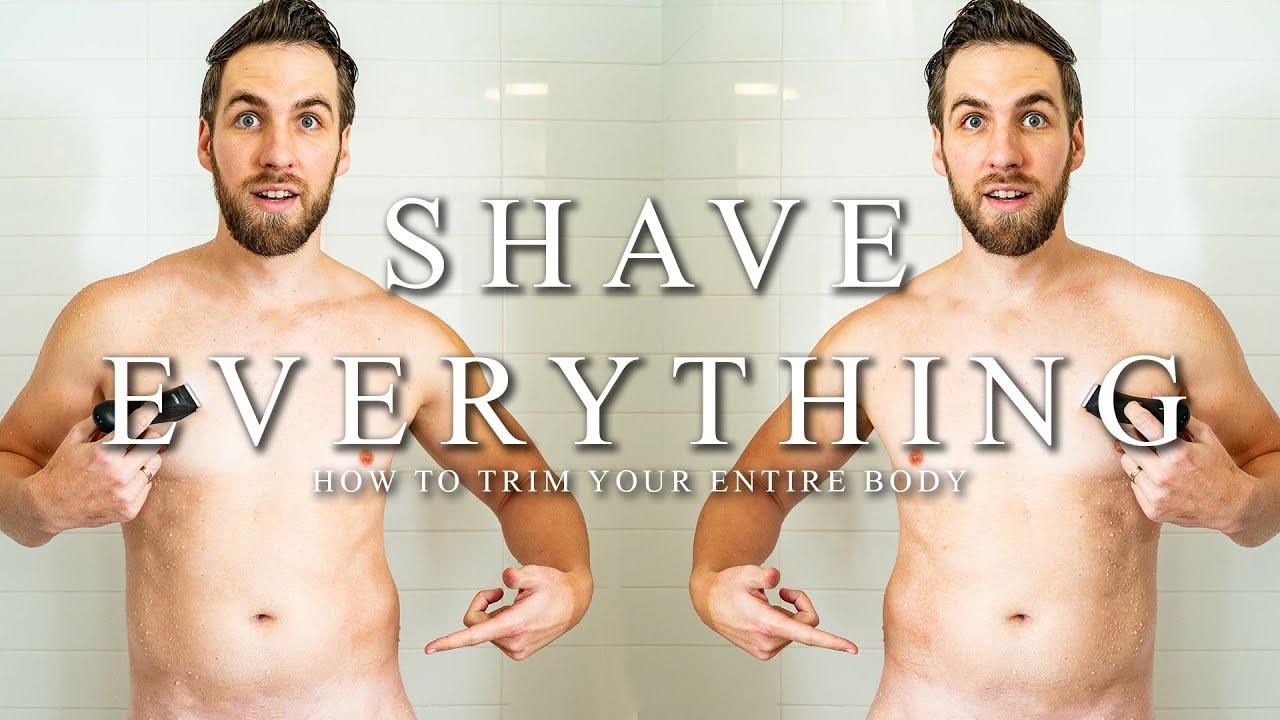 Women shaving balls