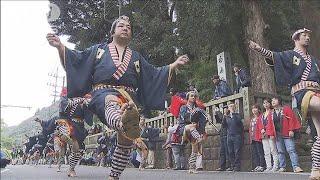 箱根で秋の風物詩「大名行列」 台風被害に負けず(19/11/03)