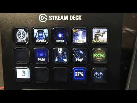 the Stream Deck profile for Star Citizen 3.5