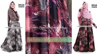 Gamis Cantik Terbaru Zaujaa Exotic Series By Gamis Amika Youtube