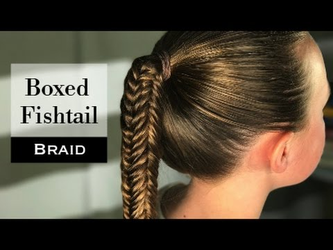 Boxed Fishtail Braid By Erin Balogh Youtube