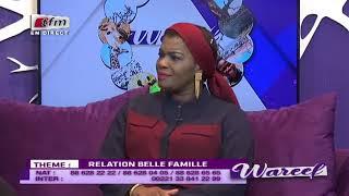 REPLAY - WAREEF avec EVA TRA - THEME : RELATION BELLE FAMILLE - 17 Juillet 2019