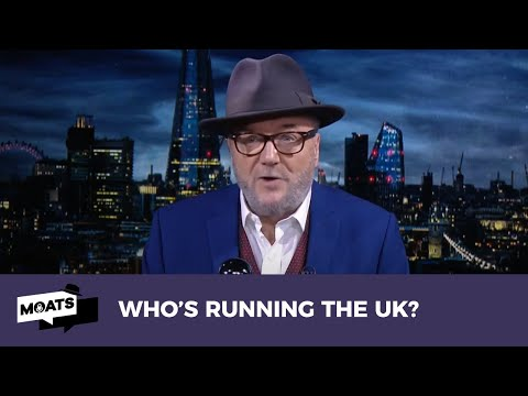 #MOATS: WHO'S RUNNING THE UK?   Boris Johnson gives the impression...