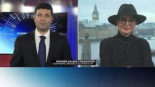 """Иранская певица Гугуш: """"США - мой второй дом"""""""