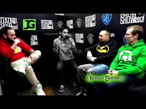 wb games | entrevista lego dimensions injustice | roadshow méxico