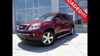 Huntsville, AL Carmax VS Hiley Auto Cars 2011 GMC Acadia Decatur, AL