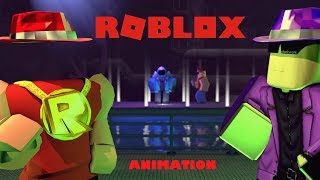 FUNNY ROBLOX ANIMATION MOVIE - MGP MEETS THE GANG!