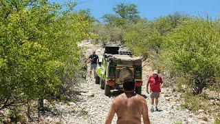 Namibia 4x4 - D 3700 along Kunene River is not for Trailers