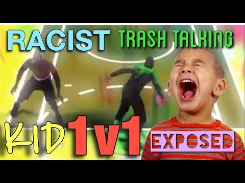 RACIST TRASH TALKING KID GETS EXPOSED!! 1v1 MyCourt NBA 2K16