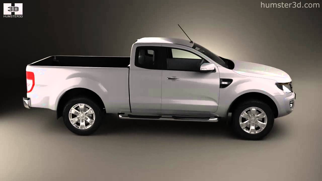 Ford ranger super cab 2011 by 3d model store humster3d com youtube
