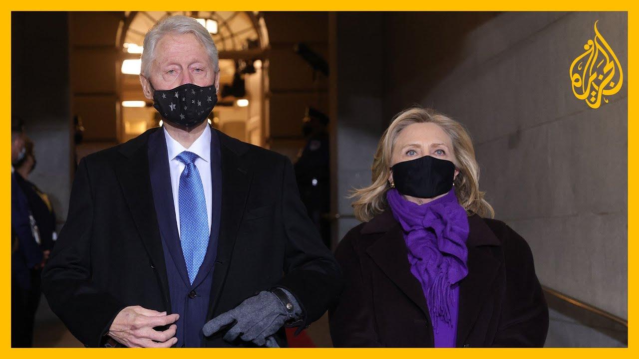 كلينتون وبوش وأوباما.. رؤساء أمريكا السابقون في حفل تنصيب بايدن  - نشر قبل 17 دقيقة
