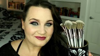 bh cosmetics vegan brush line review