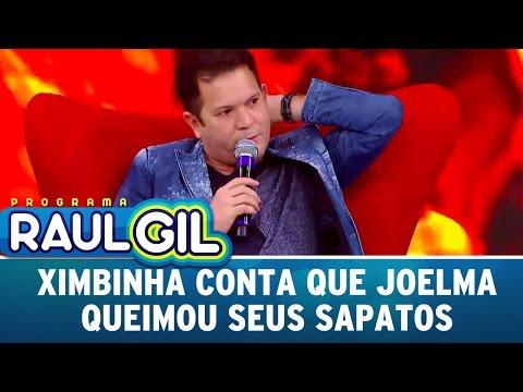 Ximbinha Conta Que Joelma Queimou Seus Sapatos | Programa Raul Gil (18/03/17)