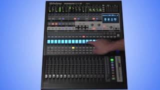 PreSonus StudioLive CS18AI Training | 4: Navigating Channels and Mixes